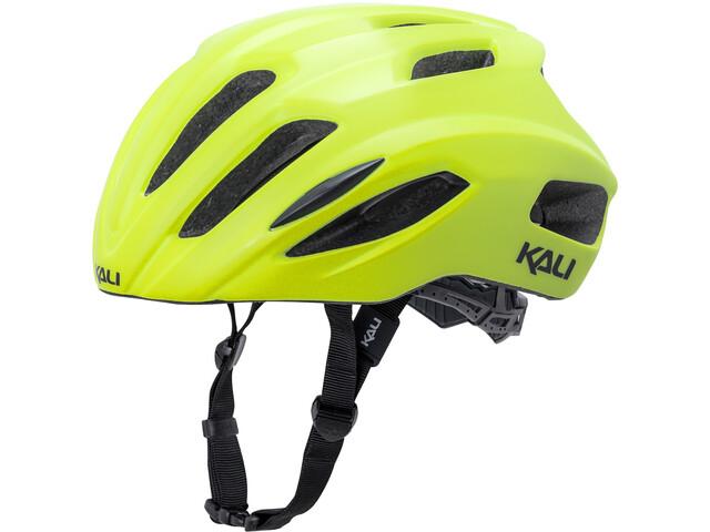 Kali Prime casco per bici giallo
